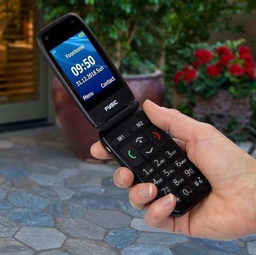 Fysic Senioren mobiele klaptelefoon FM-9260