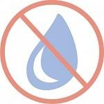 Te gebruiken zonder water
