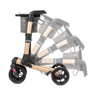 Track Comfort Rollator Champagne