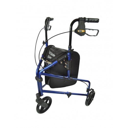 Driewiel Rollator Blauw