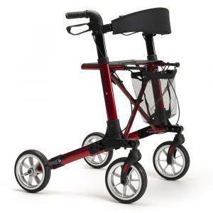 Rollator Quadri Light Rood