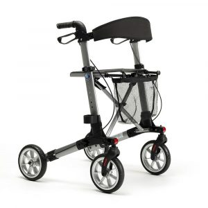 Rollator Quadri Light Zilver