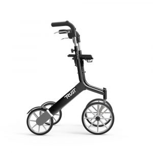 TrustCare Lets Go Out rollator Zwart