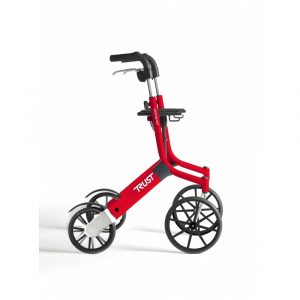 TrustCare Lets Go Out rollator Rood