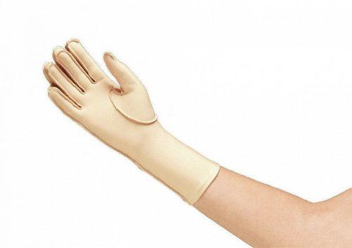 Norco oedeemhandschoen hele vingers over de pols
