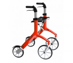 TrustCare Lets Fly Rollator Rood