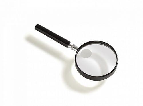 Vergrootglas rond 7,5 cm