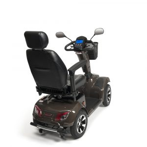 Scootmobiel Carpo 4 LTD backview