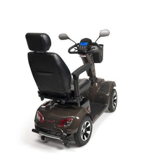 Scootmobiel Carpo 4 LTD backview
