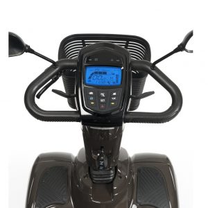 Scootmobiel Carpo 4 LTD console