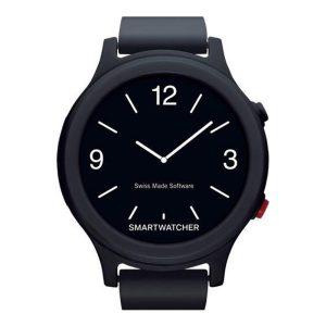 SmartWatcher Alarmhorloge Essence Zwart