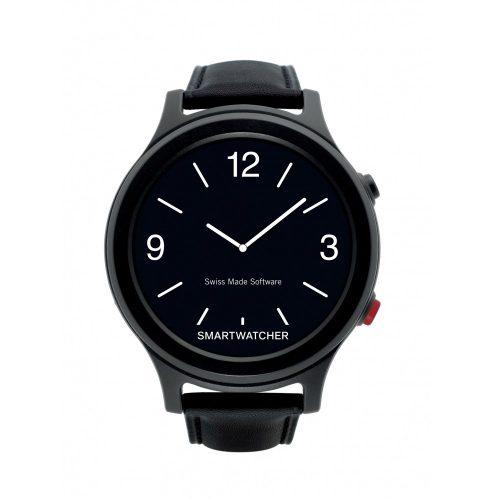 SmartWatcher Alarmhorloge Essence deluxe Zwart