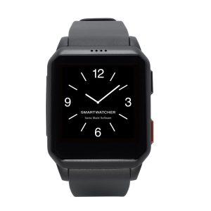 SmartWatcher Alarmhorloge Motion Zwart