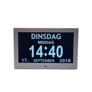 Digitale Kalenderklok