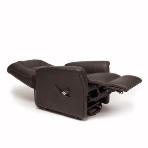 Sta-op stoel Ontario 1 Skai bruin