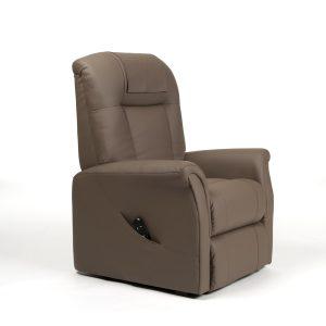 Sta-op stoel Ontario 1 Skai taupe