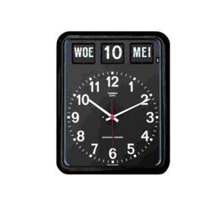 Kalenderklok Twemco BQ-12 Zwart